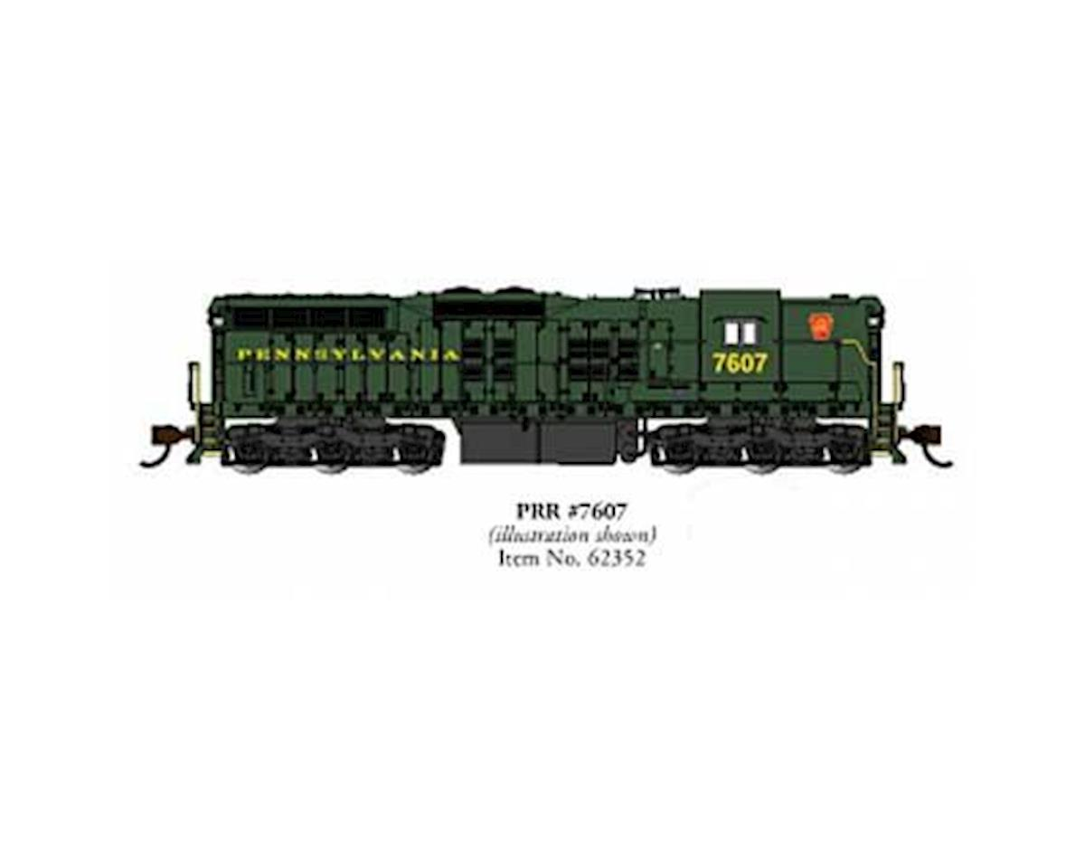 Bachmann N SD9 w/DCC & Sound Value, PRR #7607