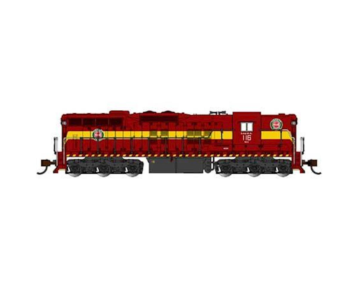Bachmann N SD9 w/DCC & Sound Value, DM&IR #116