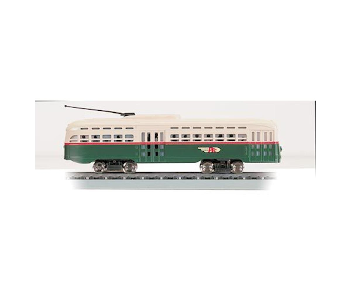 HO RTR Streamline Trolley, PTC by Bachmann