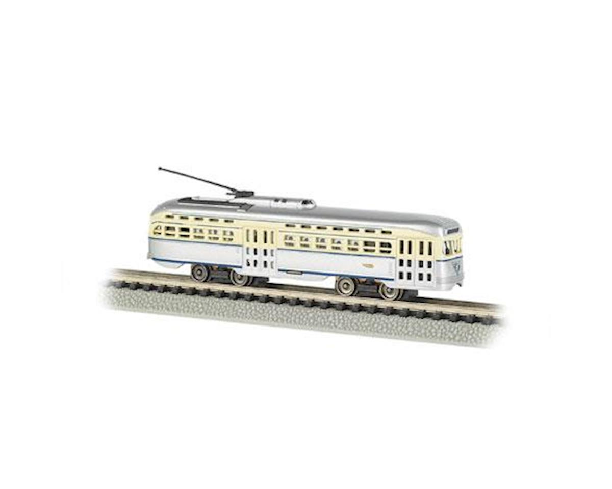 Bachmann N PCC Trolley, PTC/Gray/Cream