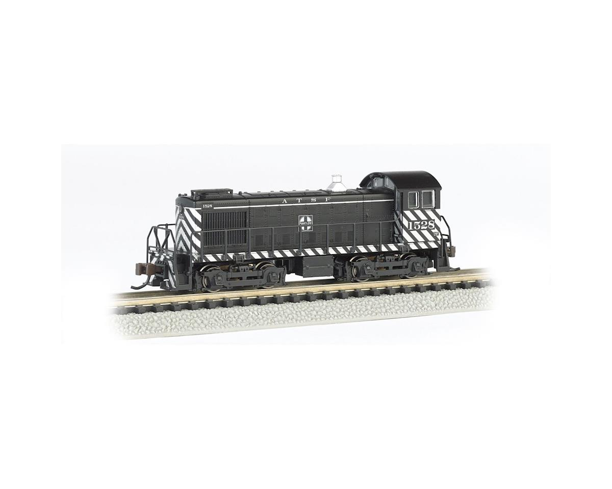 A.T.S.F #1528 (Zebra Stripe) ALCO S4 Switcher DCC Locomotive