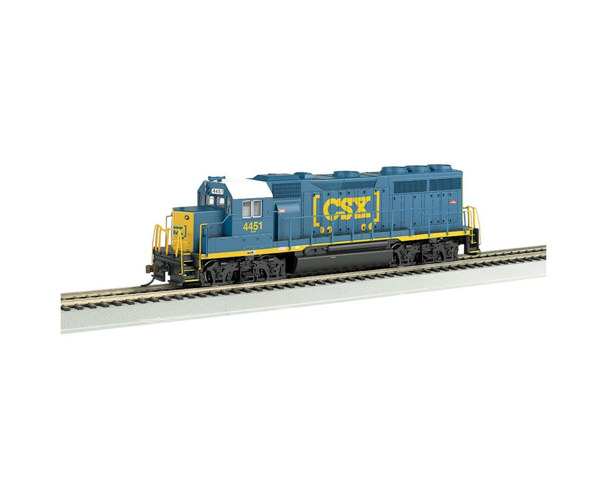 HO GP40,CSX/Dark Future by Bachmann