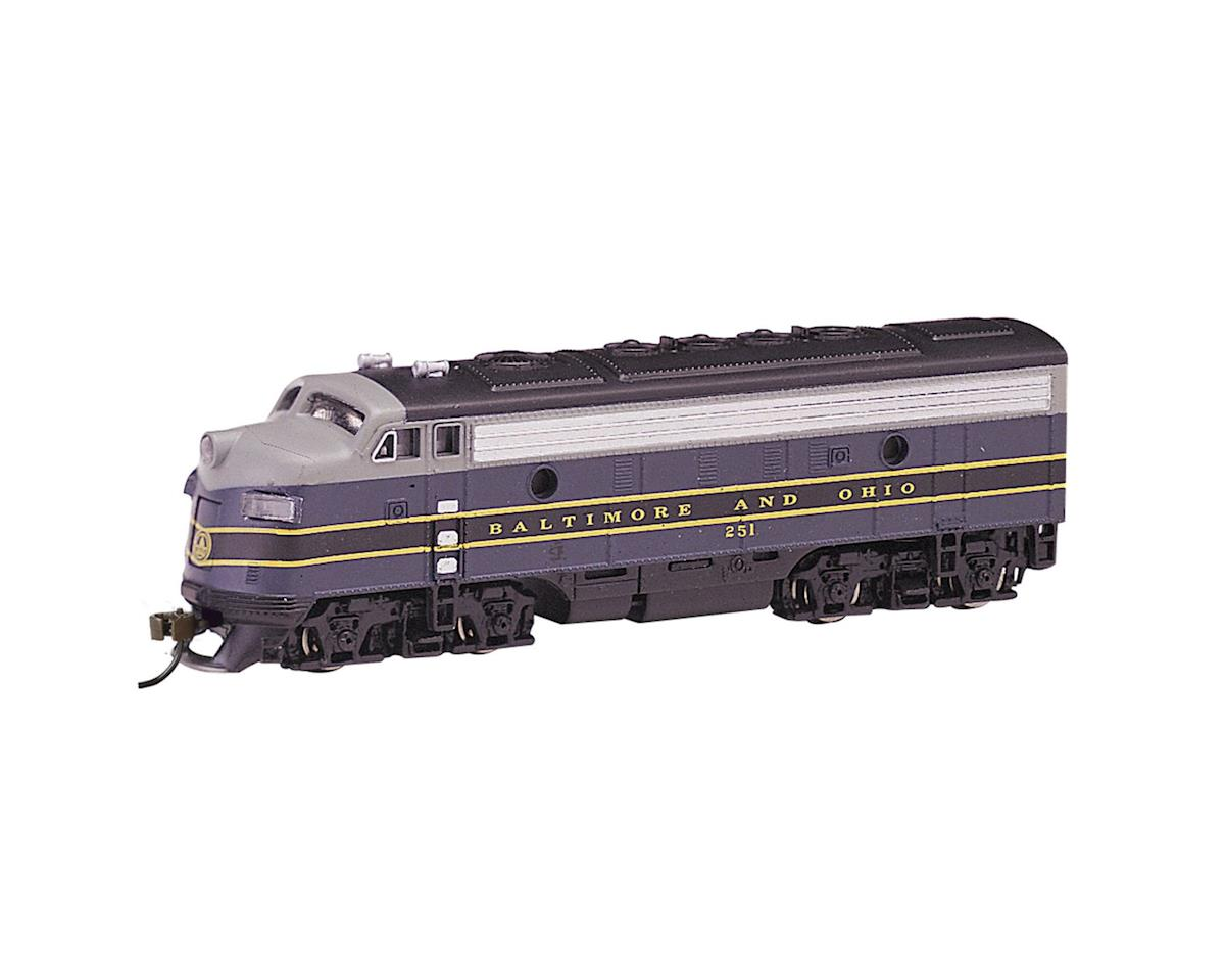 N F7A w/DCC, B&O/Blue/Gray/Black by Bachmann