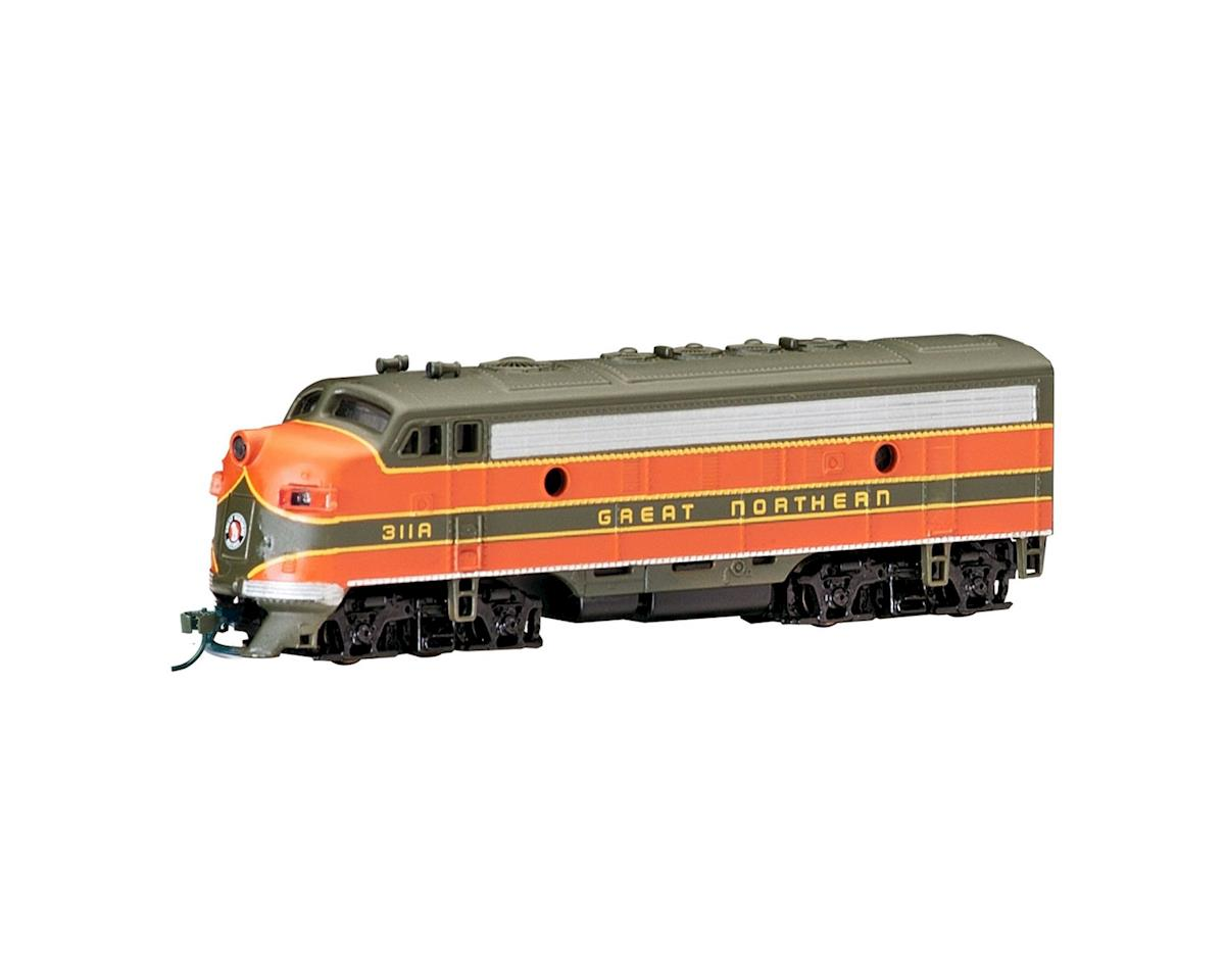 Bachmann N F7A w/DCC, GN/Green/Orange