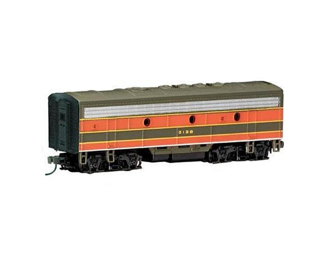Bachmann N F7B w/DCC, GN/Green/Orange