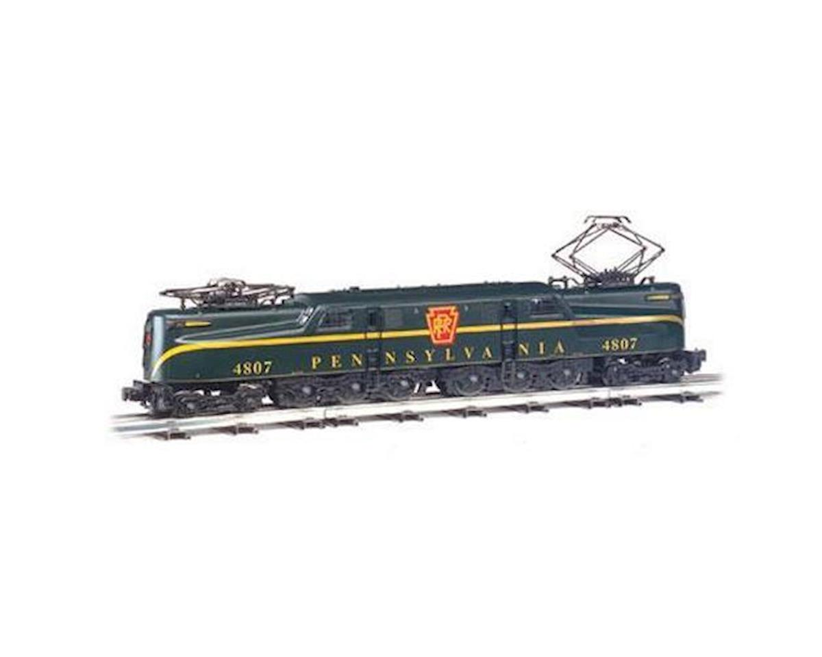 HO GG1 w/DCC & Sound Value, PRR/Green/1 Stripe by Bachmann