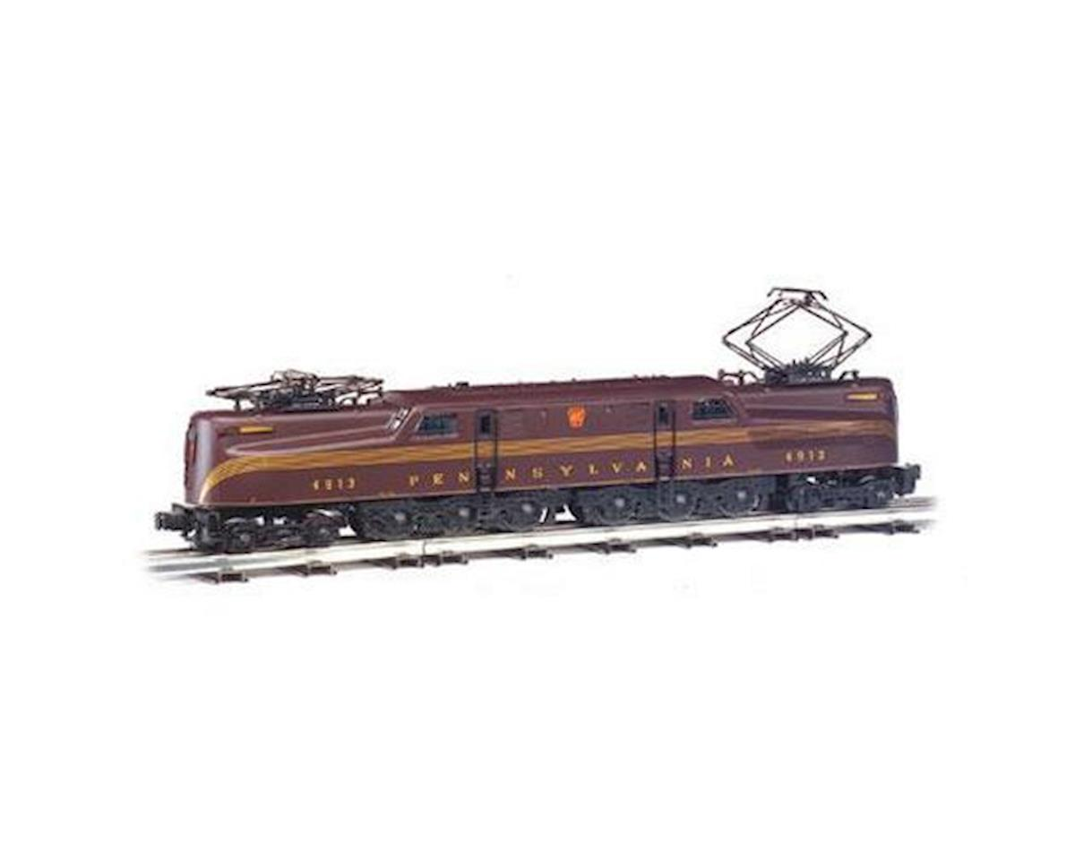 Bachmann HO GG1 w/DCC & Sound Value, PRR/Tuscan/5 Stripe