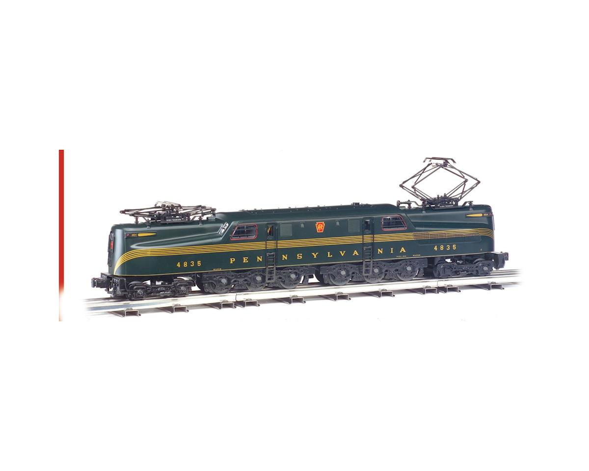 Bachmann HO GG1 w/DCC&Sound Value, PRR/Blk Jack/Grn/5Stripe