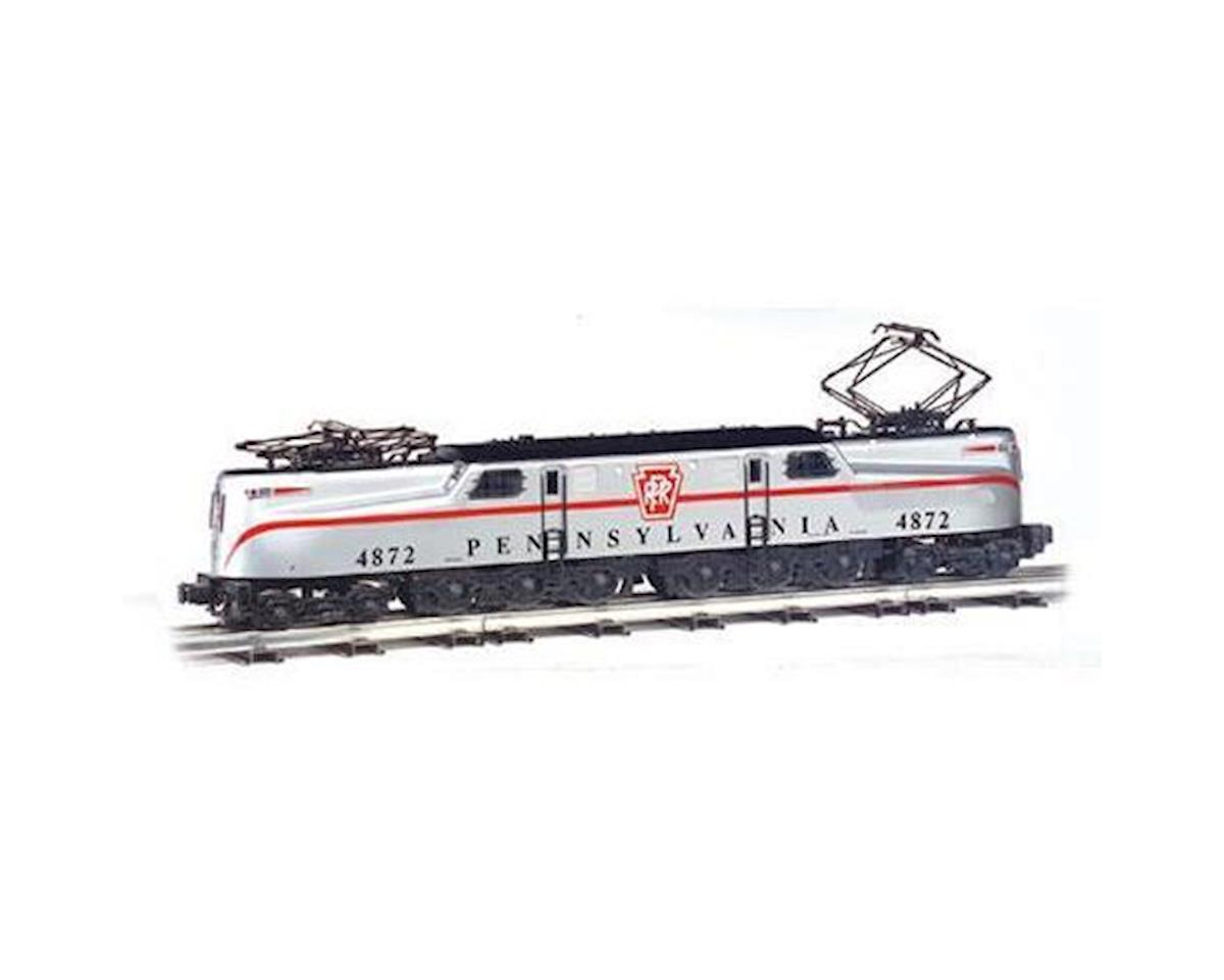 Bachmann HO GG1 w/DCC & Sound Value, PRR/Congressional/Slvr