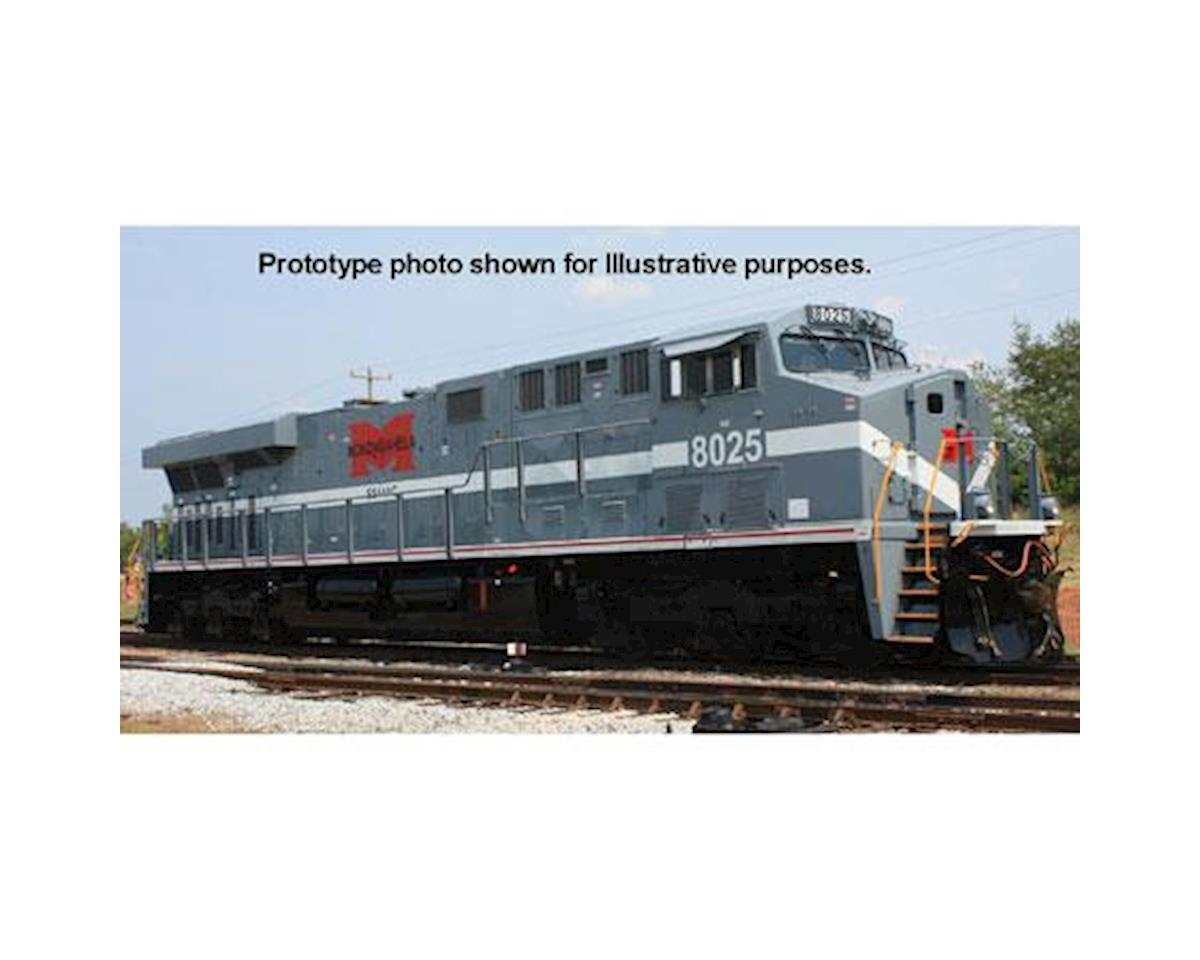 Bachmann HO ES44AC w/DCC & Sound Value, Monongahela