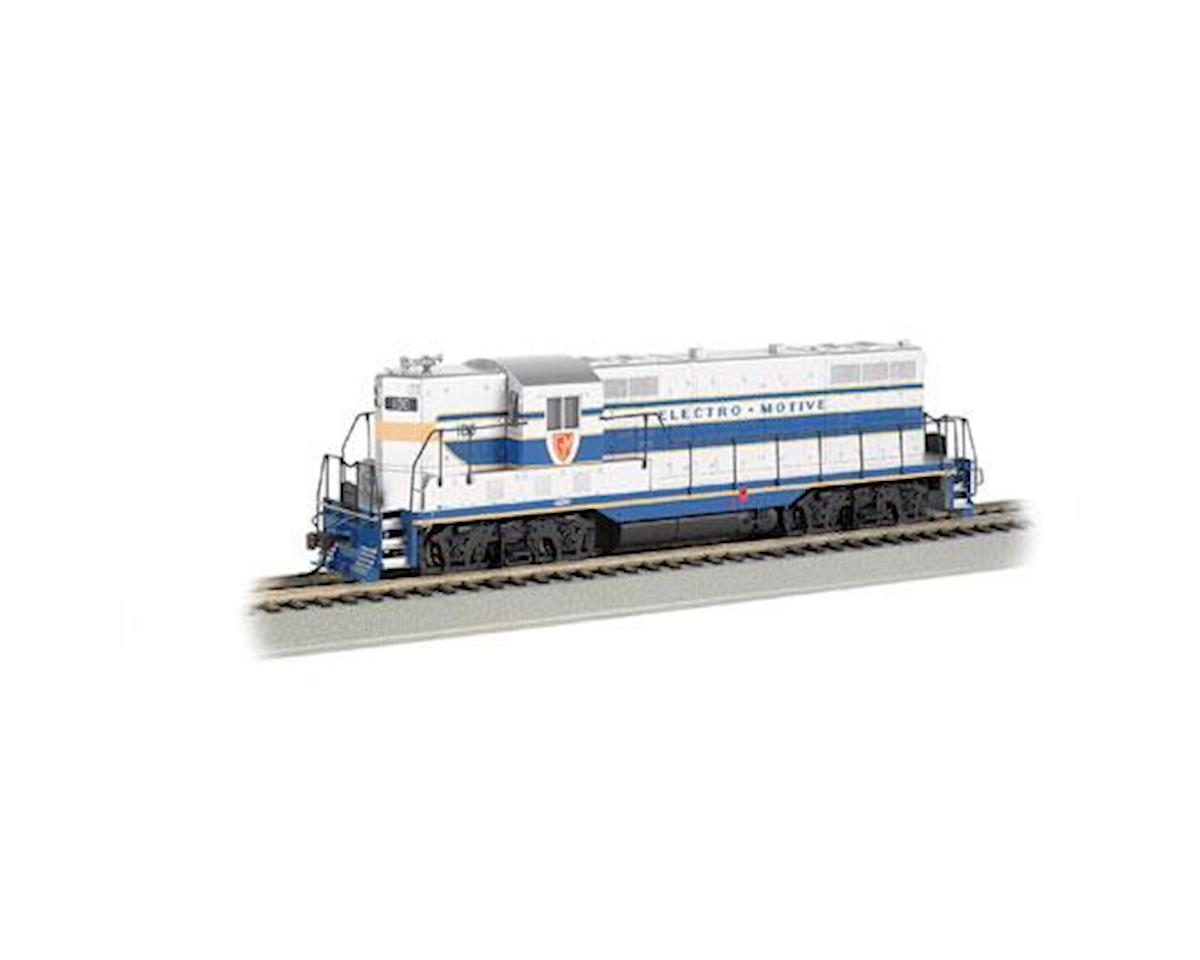 HO GP-7 w/DCC & Sound Value, GE Demonstrator by Bachmann