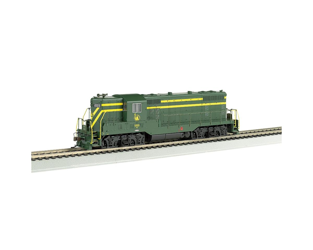 Bachmann HO GP7 w/DCC & Sound Value, CNJ