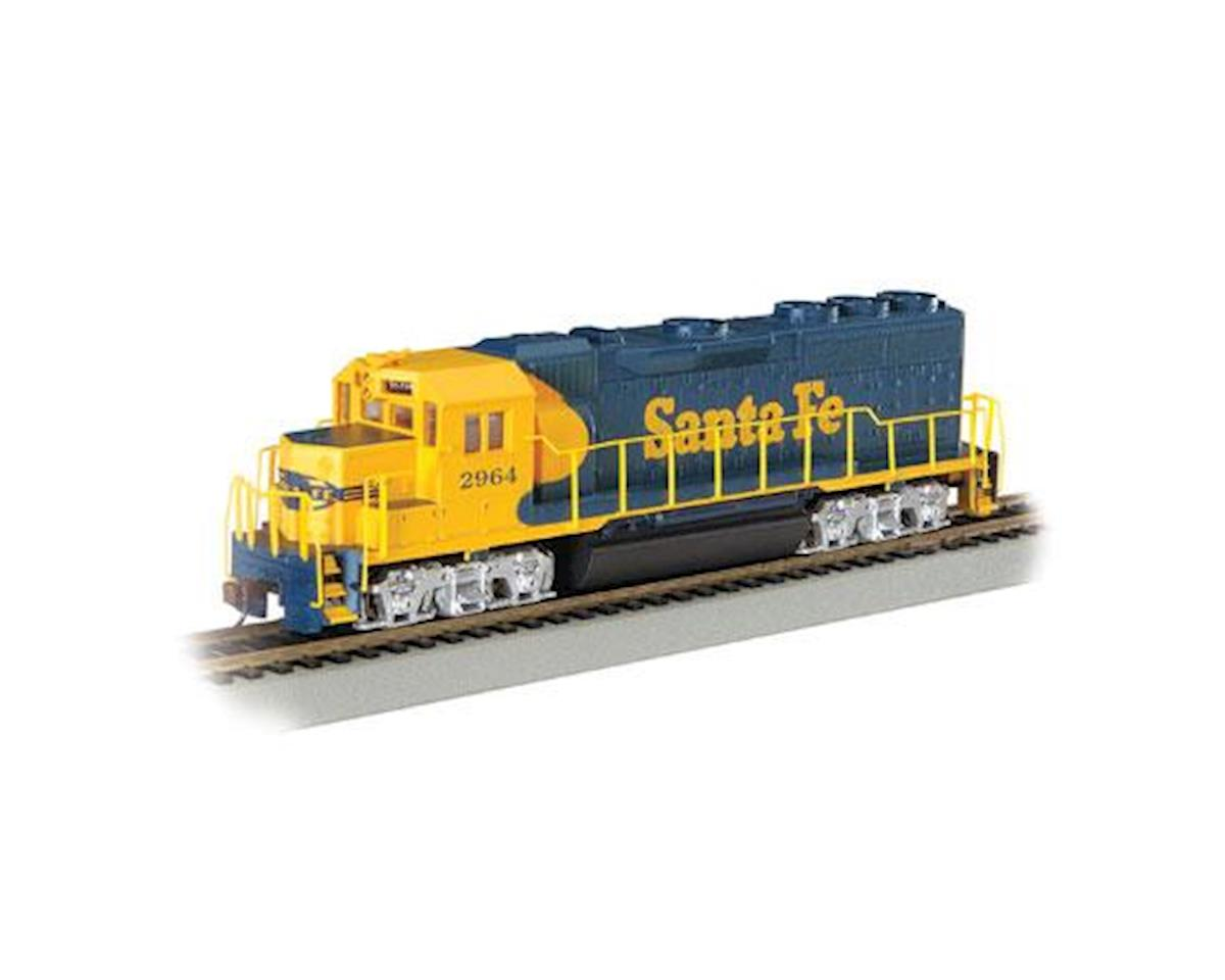 Bachmann HO GP40 w/DCC & Sound Value, SF/War Bonnet #2964