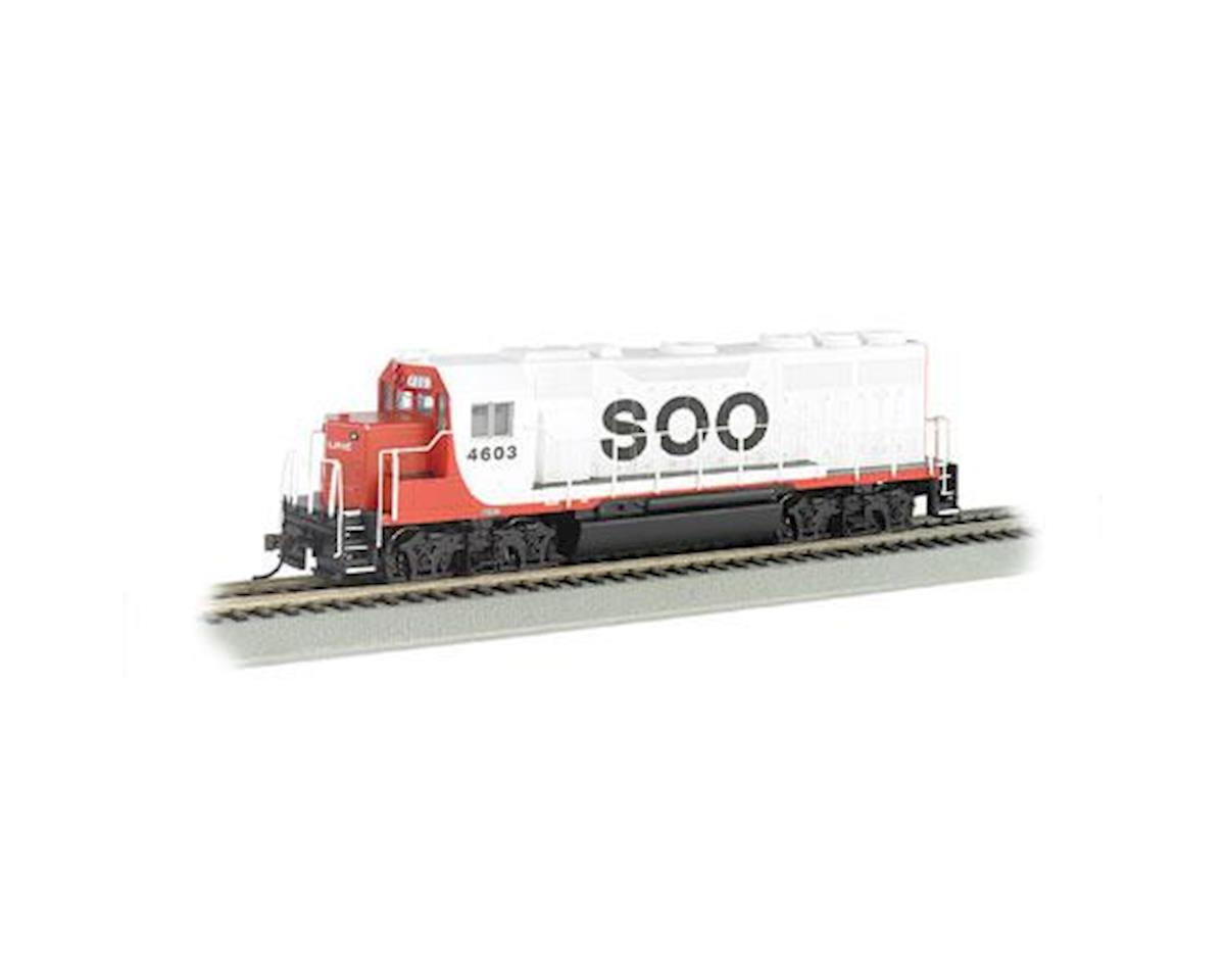 Bachmann HO GP40 w/DCC & Sound Value, SOO #4603