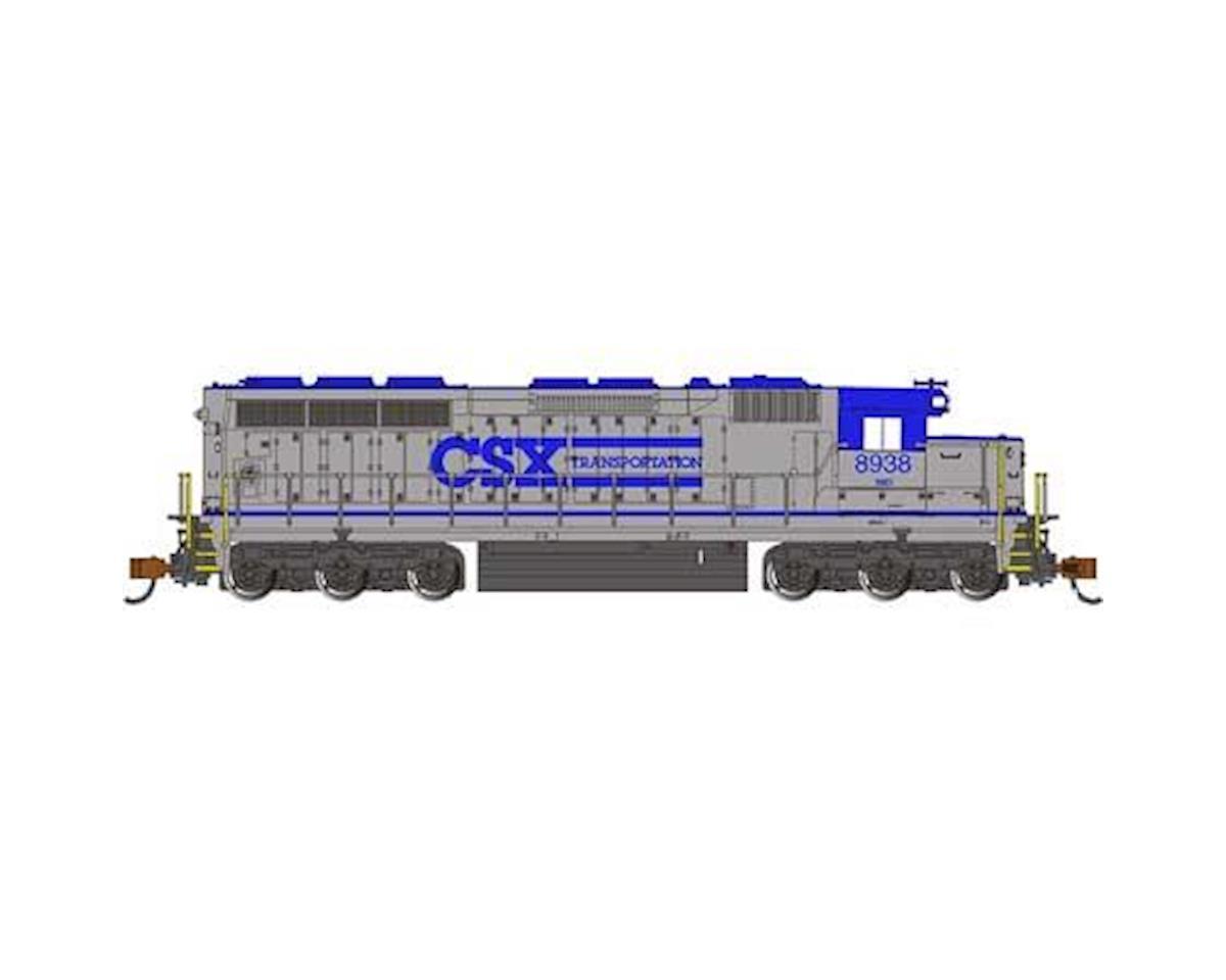 Bachmann N SD45 w/DCC & Sound Value, CSXT