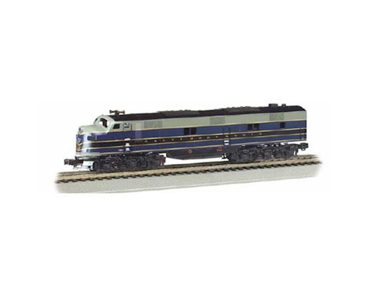 Bachmann HO E7-A w/DCC & Sound Value,B&O