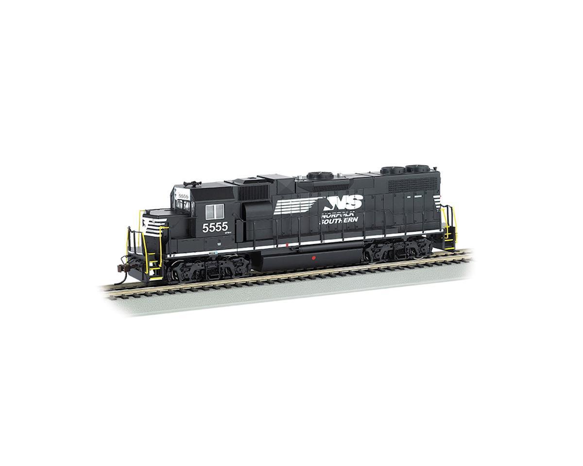 Bachmann HO GP38-2 w/DCC & Sound Value, NS/Thoroughbred
