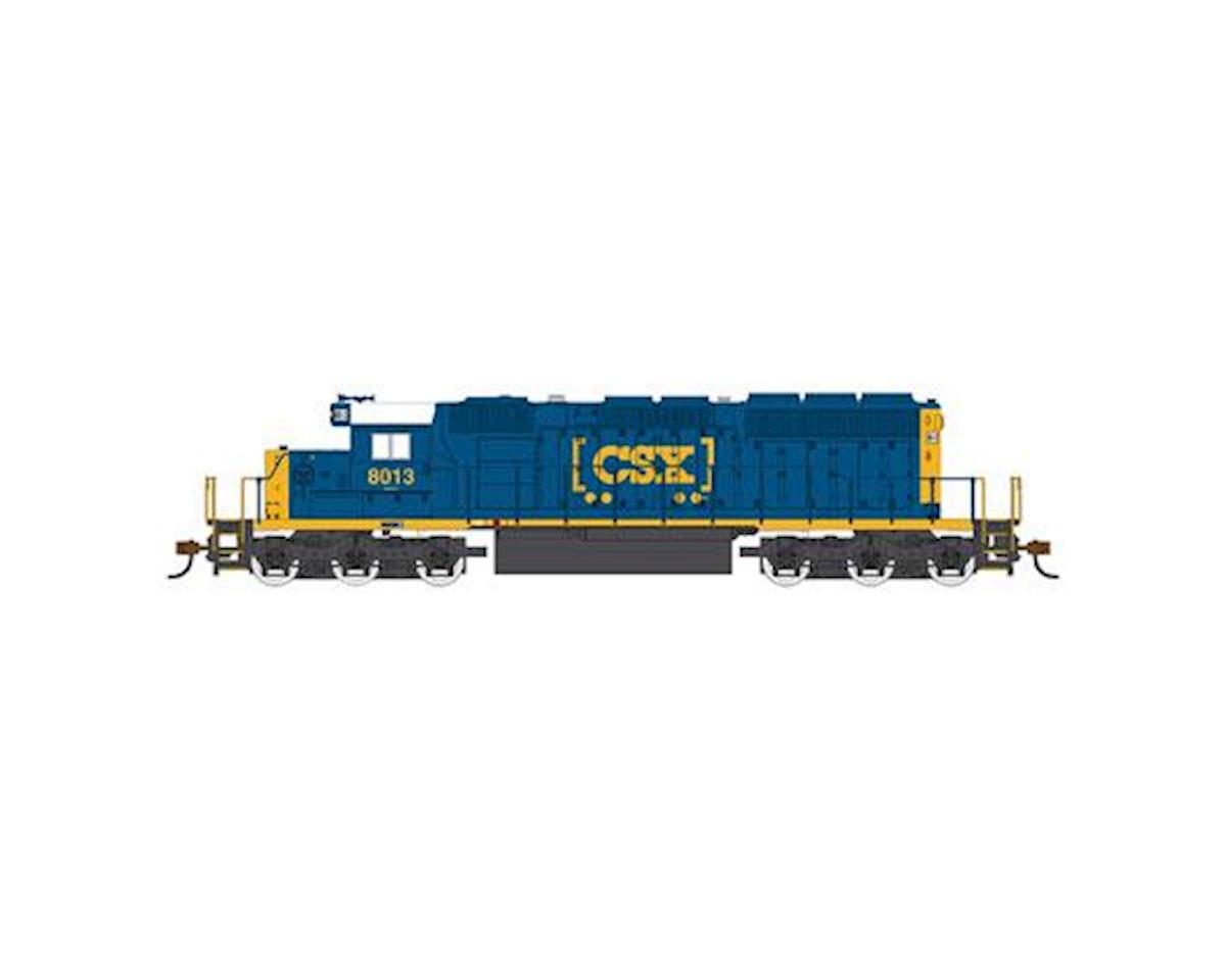 Bachmann HO SD40-2 w/DCC & Sound Value, CSX/Dark Future