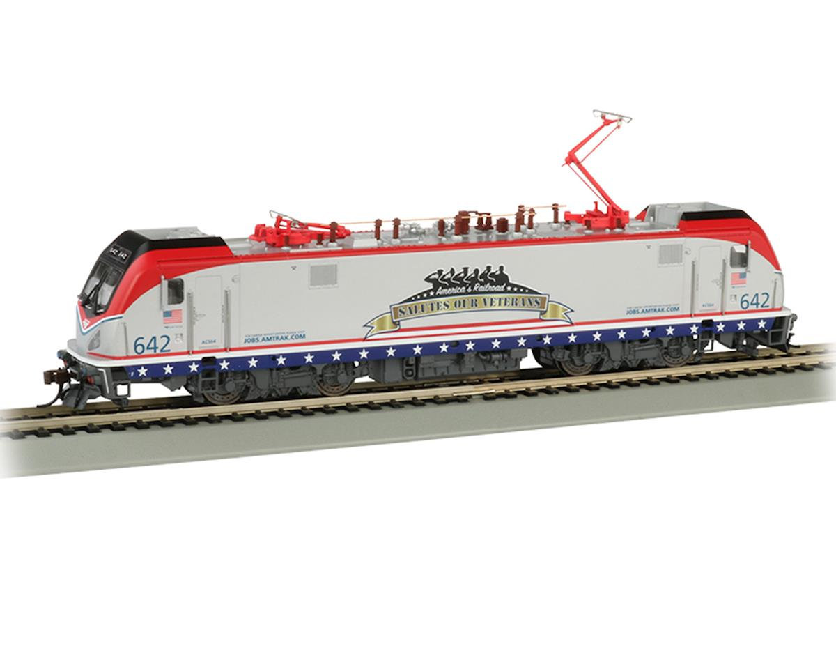 Bachmann Amtrak #642 Salutes our Veterans Siemens ACS-64 Locomotive w/DCC Sound