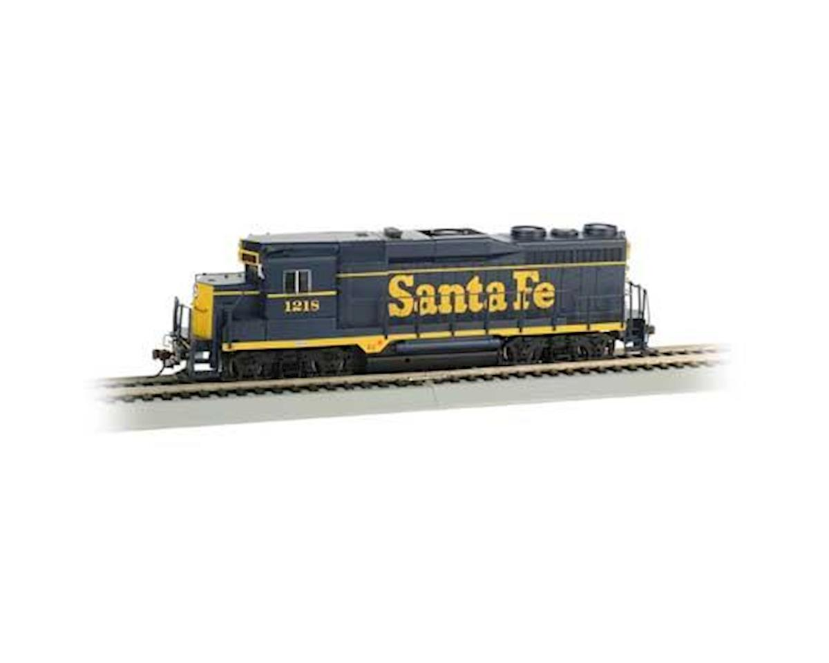Bachmann HO GP30 w/DCC & Sound Value, SF/Blue/Yellow #1218