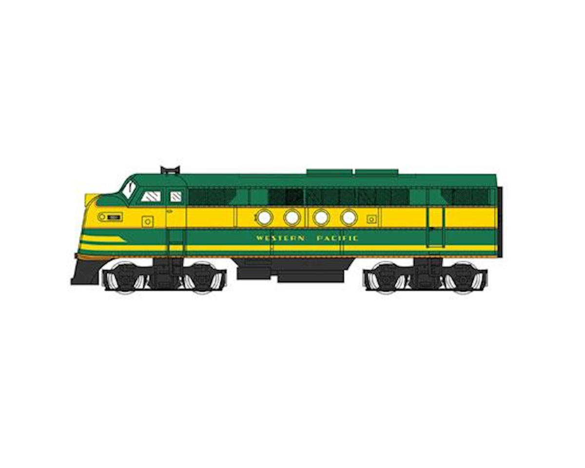 Bachmann HO FT w/E-Z App, WP/Green/Yellow #901