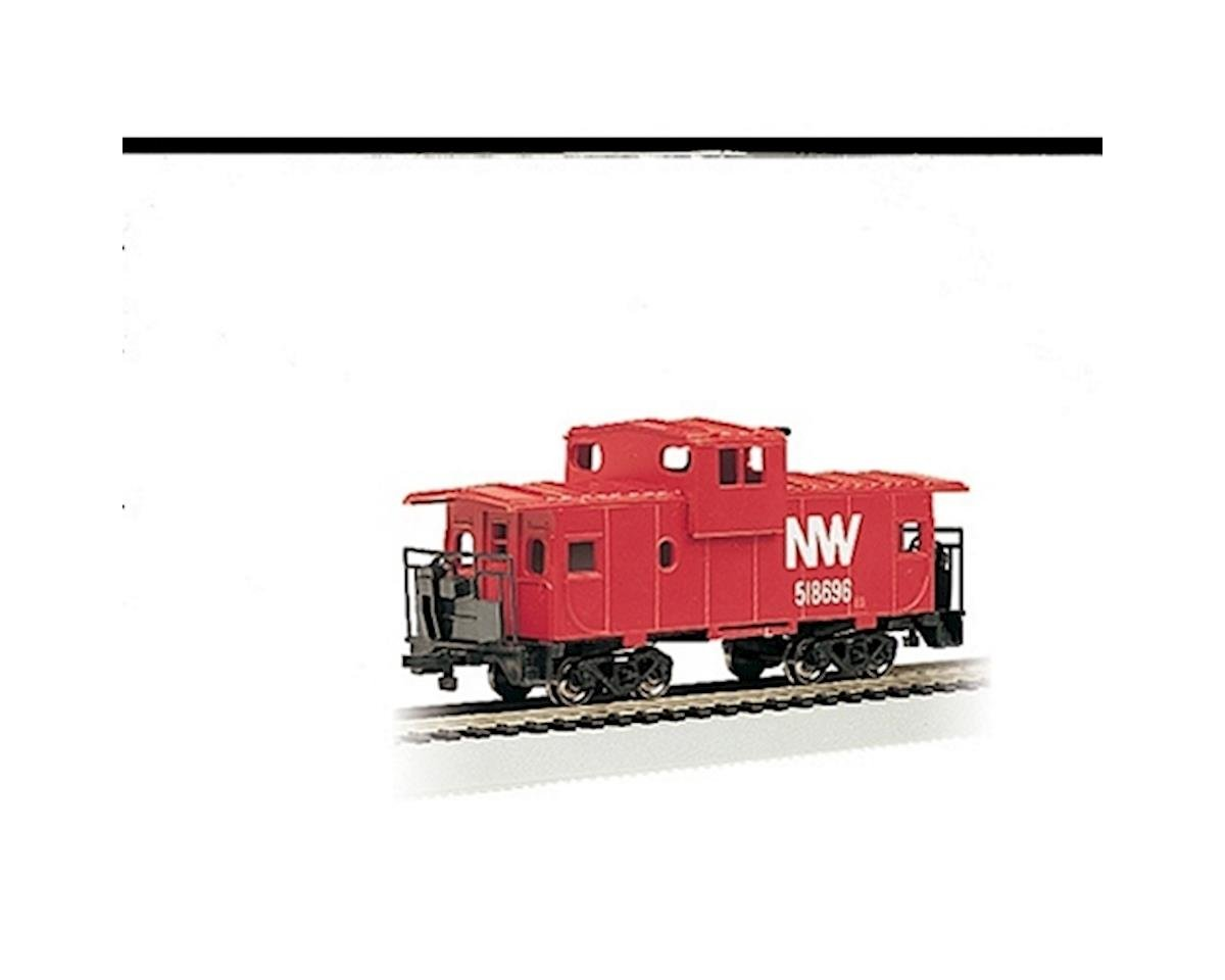Bachmann N RTR SS 36' Wide Vision Caboose, N&W
