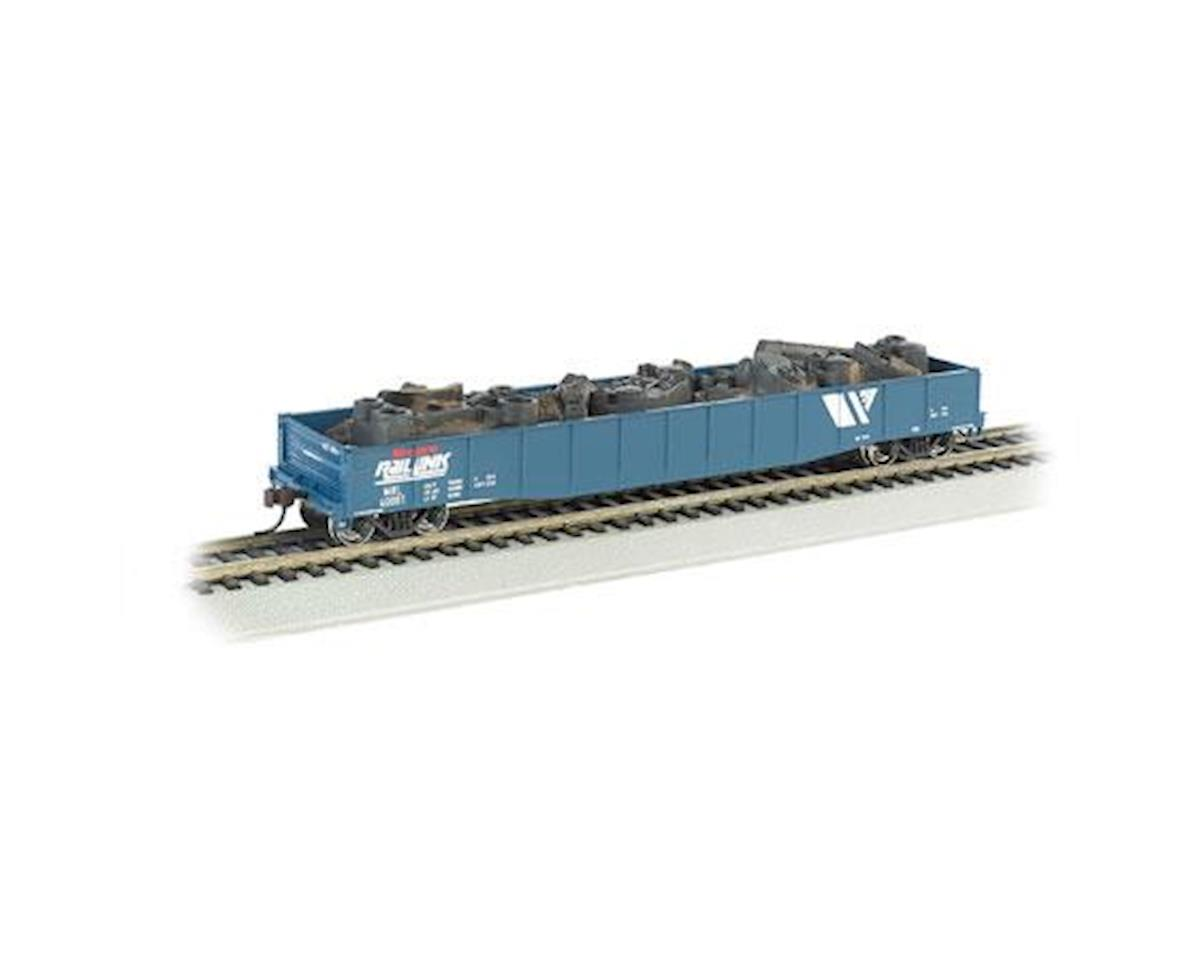 HO Gondola w/Scrap Load, MRL by Bachmann