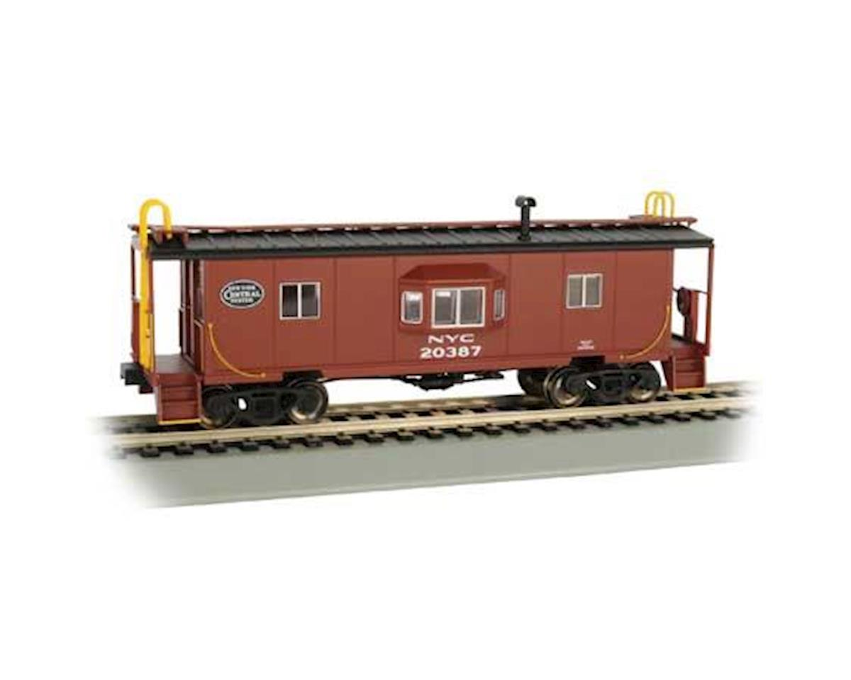 Bachmann HO Bay Window Caboose w/Roof Walk, NYC