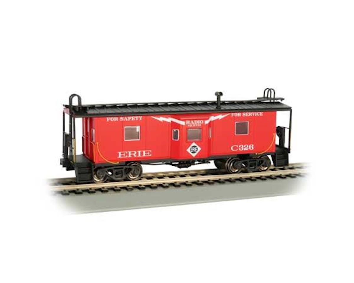 Bachmann HO Bay Window Caboose w/Roof Walk, ERIE