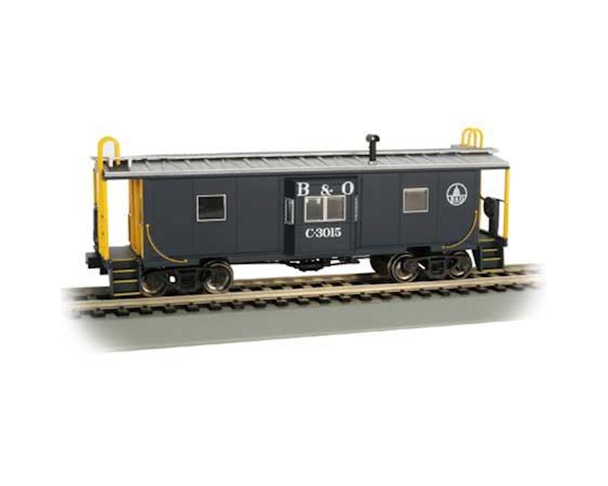 Bachmann HO Bay Window Caboose w/Roof Walk, B&O