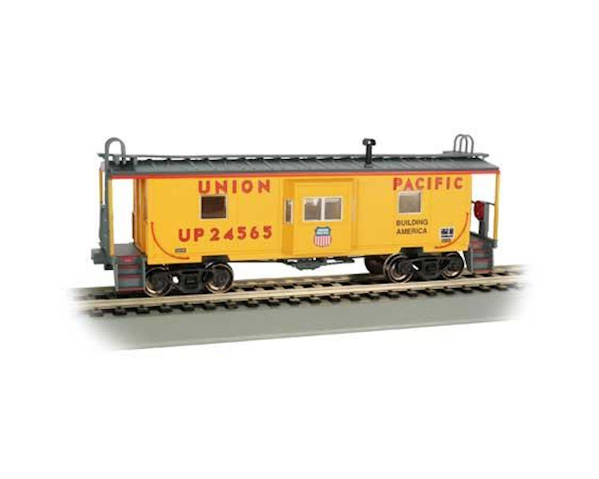Bachmann HO Bay Window Caboose w/Roof Walk, UP