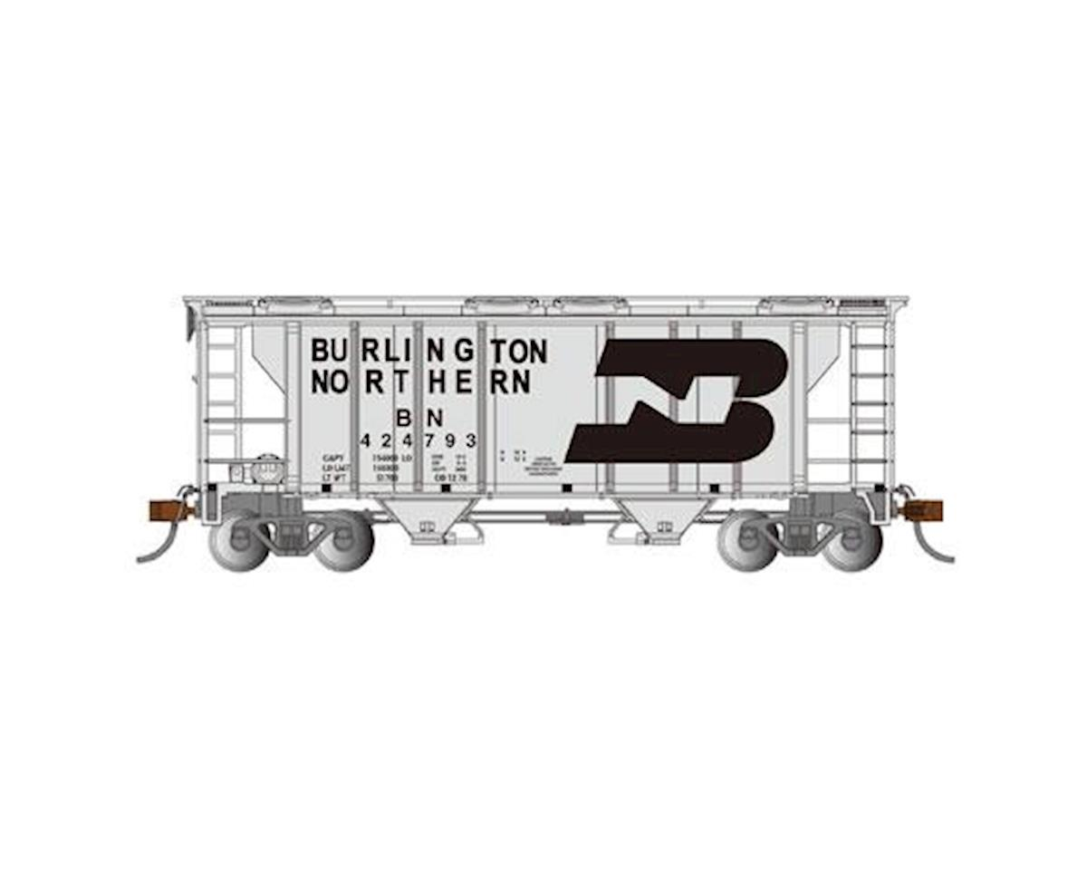Bachmann HO PS-2 2-Bay Covered Hopper, BN