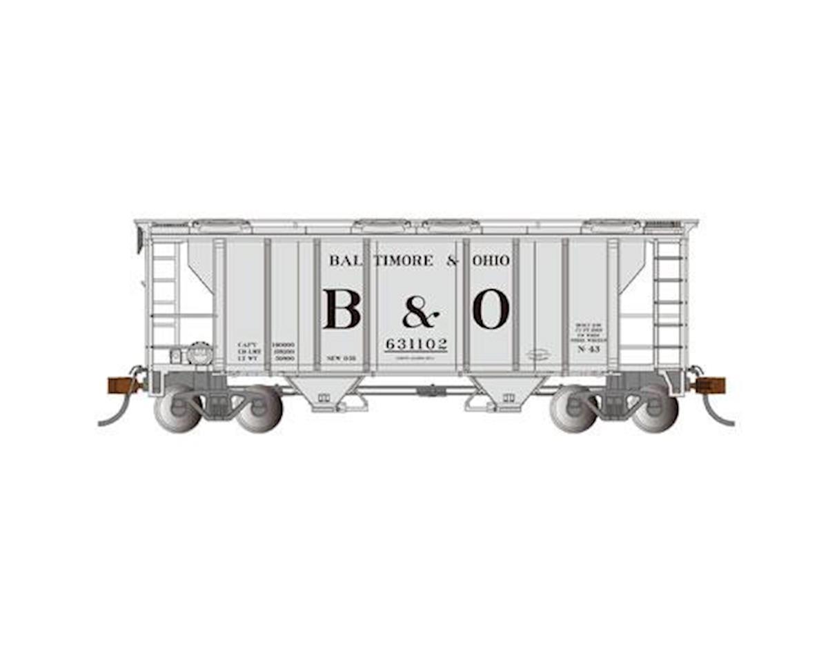 Bachmann HO PS-2 2-Bay Covered Hopper, B&O