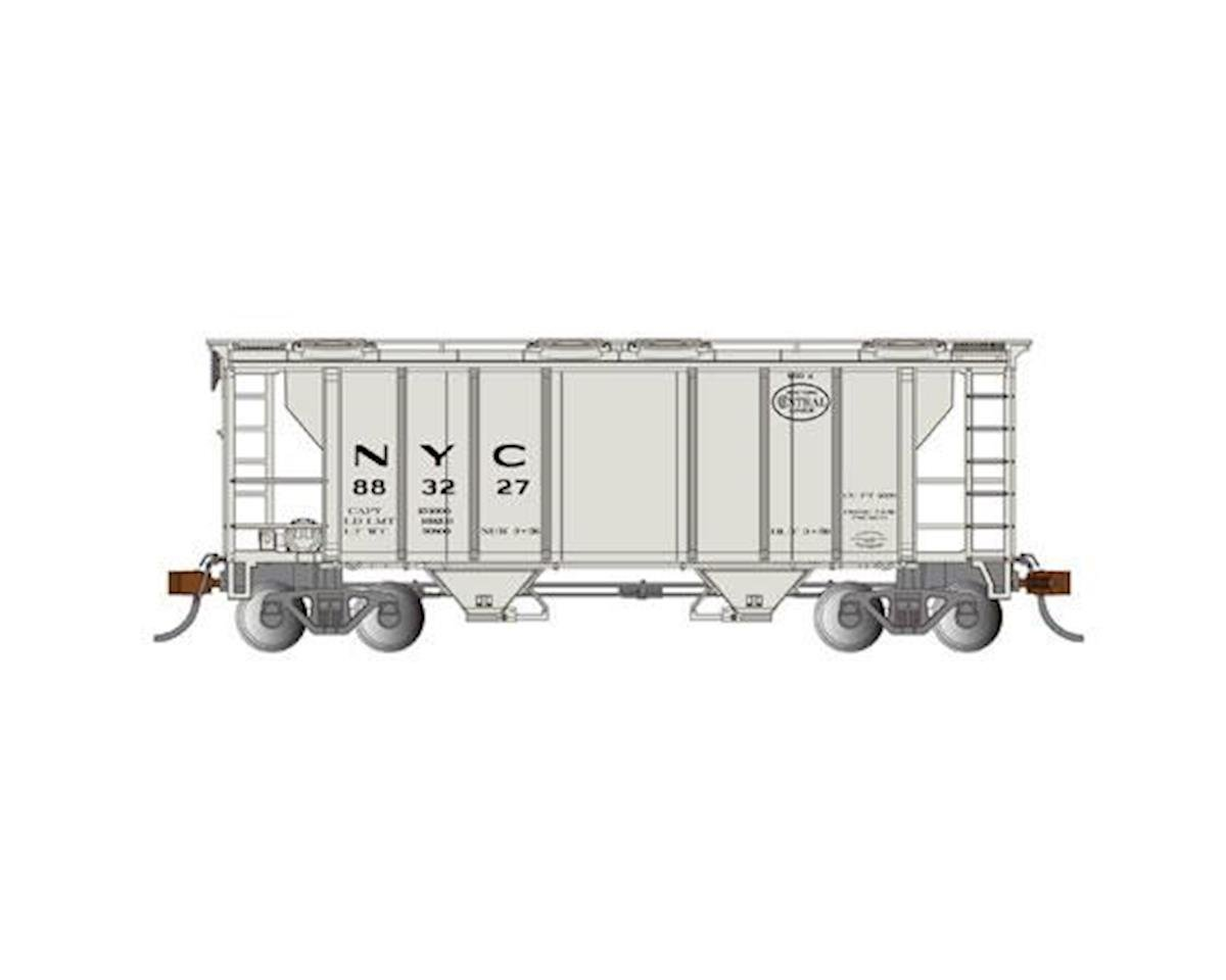 Bachmann HO PS-2 2-Bay Covered Hopper, NYC
