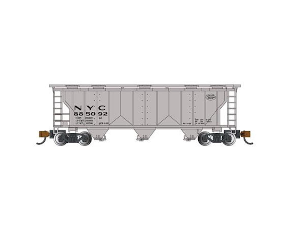 Bachmann N PS-2 3-Bay Covered Hopper, NYC