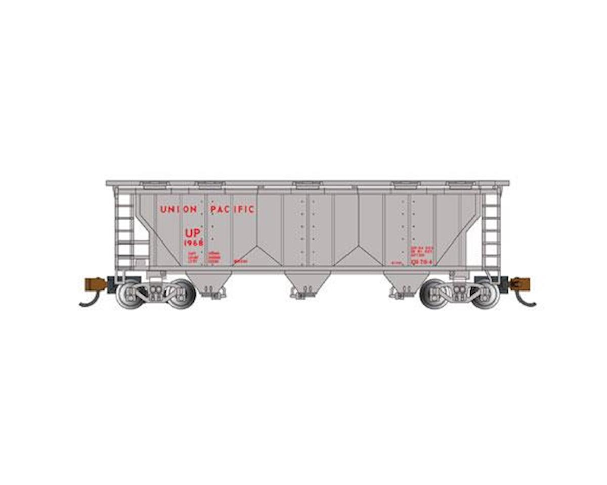 Bachmann N PS-2 3-Bay Covered Hopper, UP