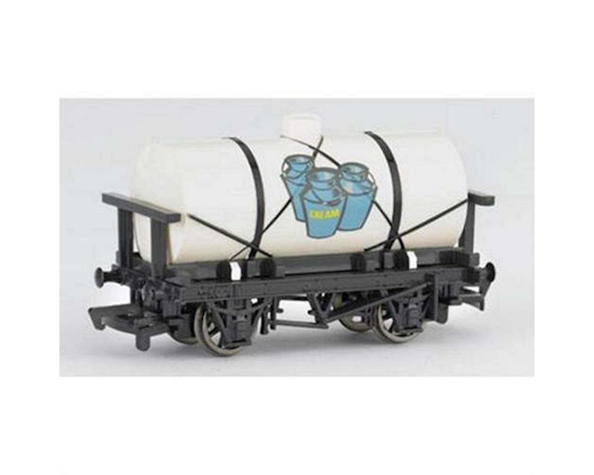 HO Thomas & Friends Cream Tanker Car by Bachmann