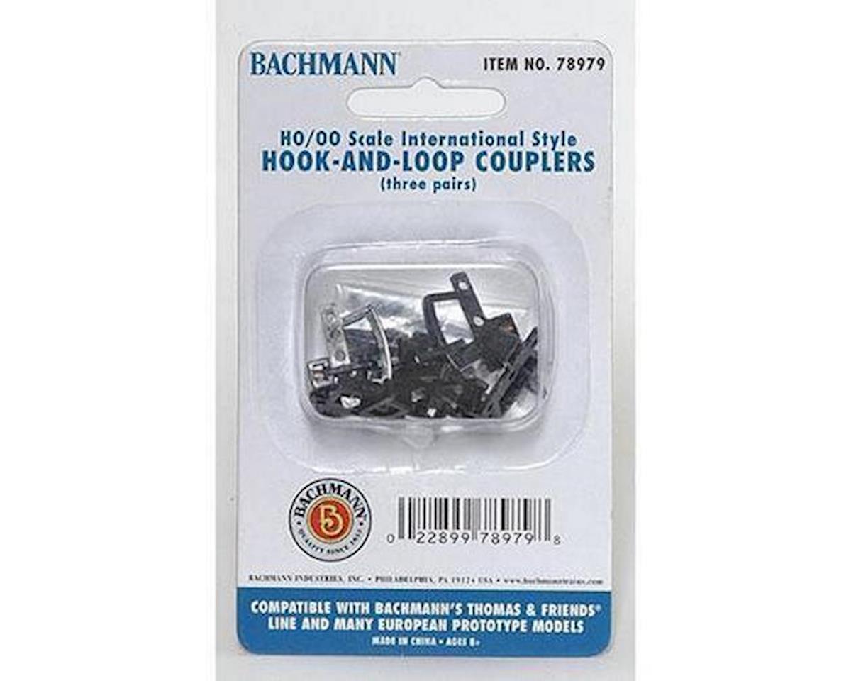 HO Thomas Hook & Loop Coupler (3pr) by Bachmann