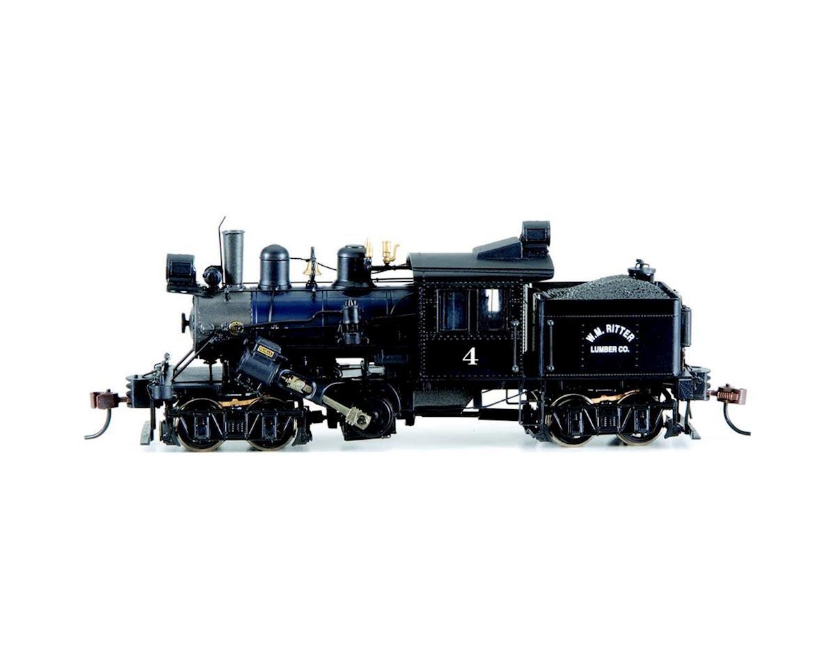 Bachmann HO Spectrum 50-Ton 2-Truck Climax w/DCC, WM Ritter