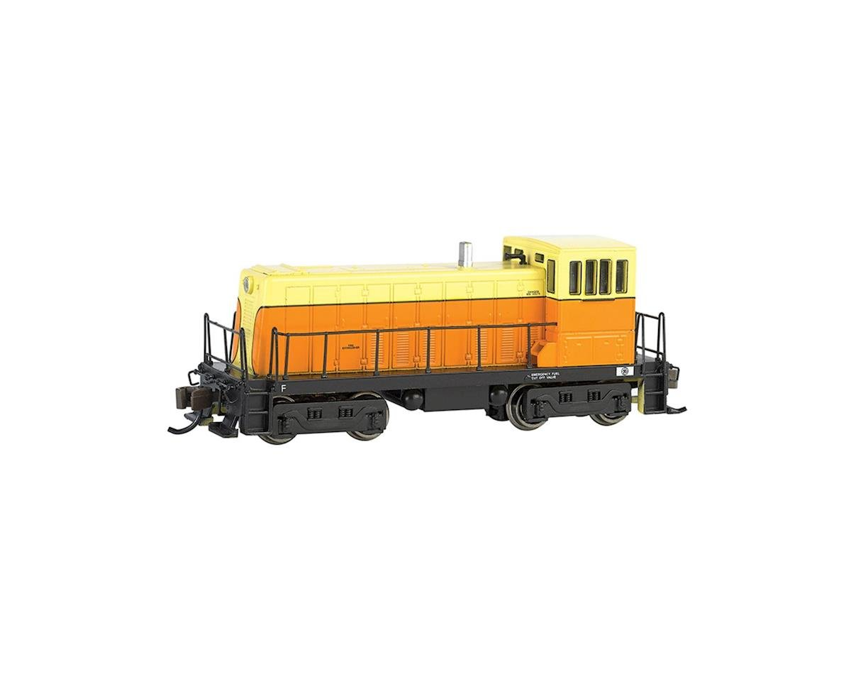 Bachmann N Spectrum 70-Ton w/DCC, Orange/Cream