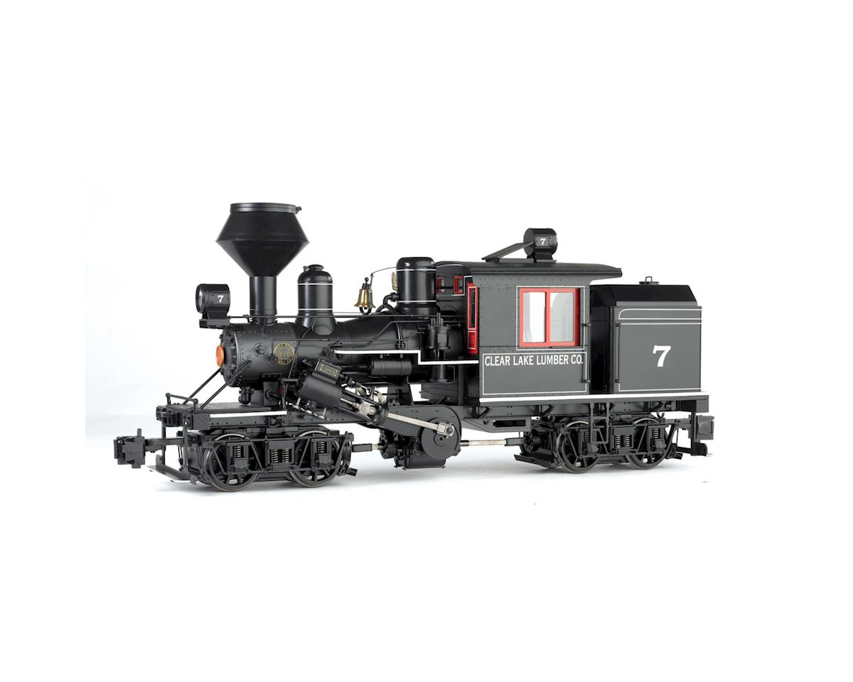 1:20.3 Spectrum 2-Truck Climax/DCC/SND,Clear Lake by Bachmann