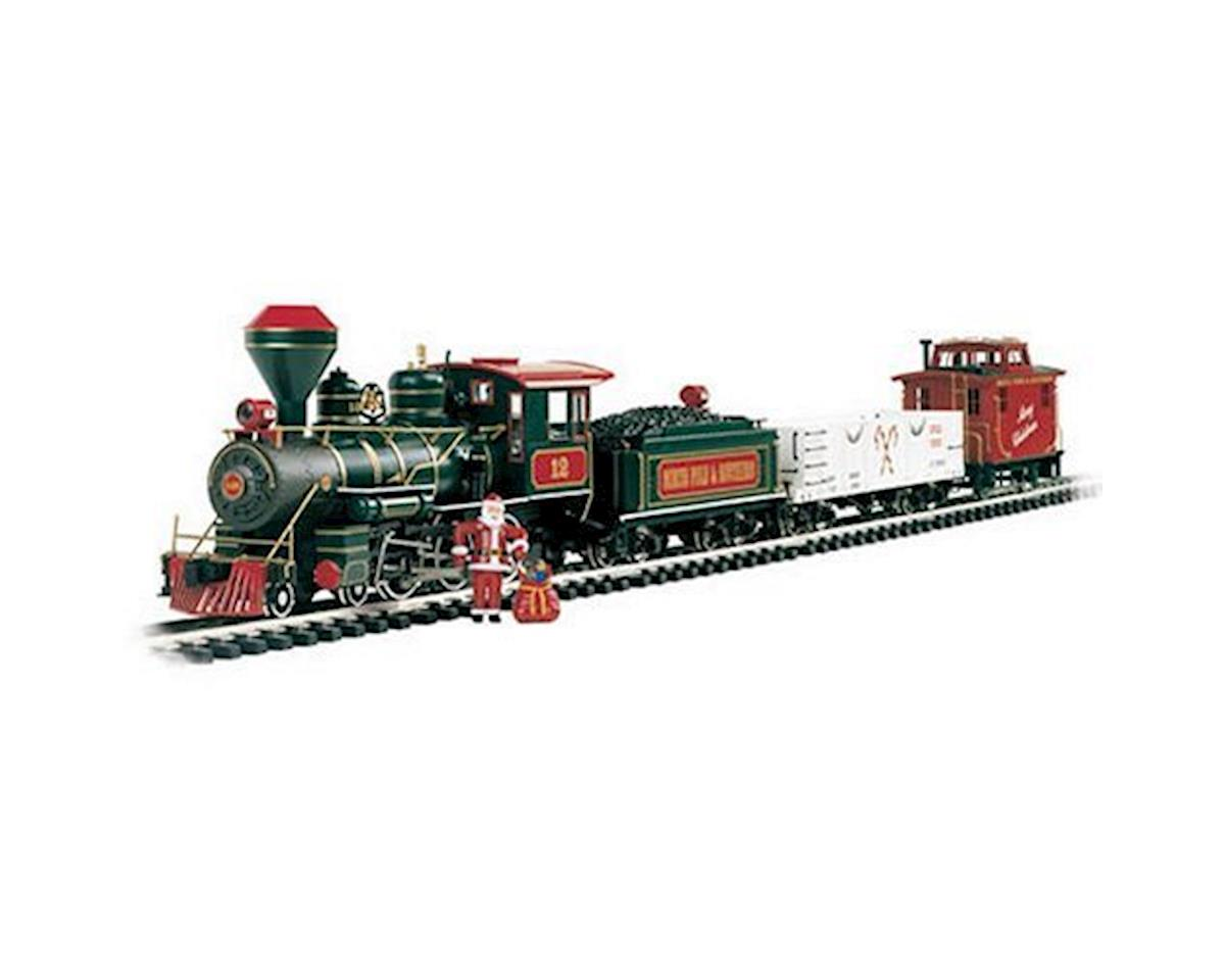 Bachmann G 4-6-0 Freight Set, Night Before Christmas
