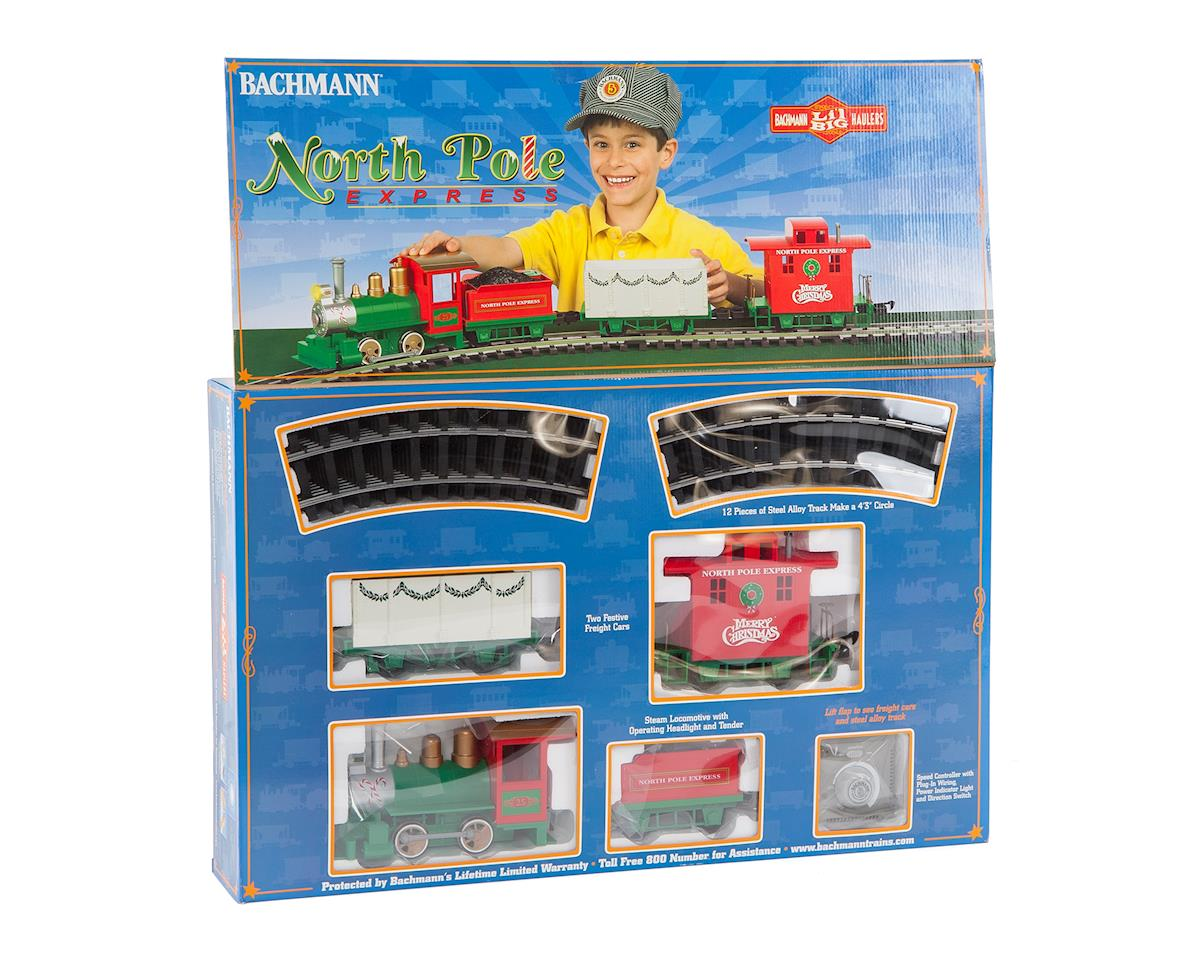 Bachmann Li'l Big Haulers North Pole Express G Train Set