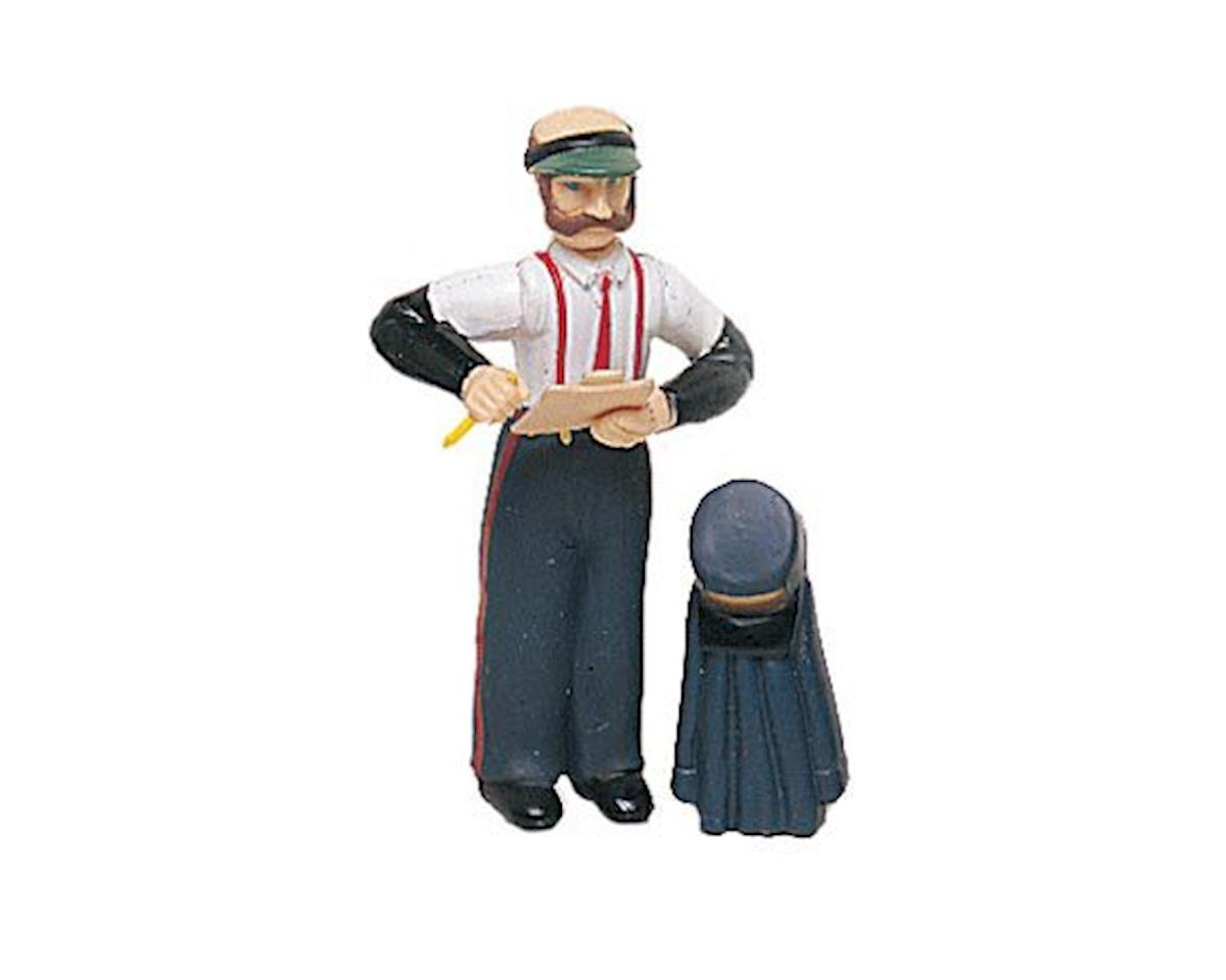 Bachmann G Station Agent w/Hat & Coat