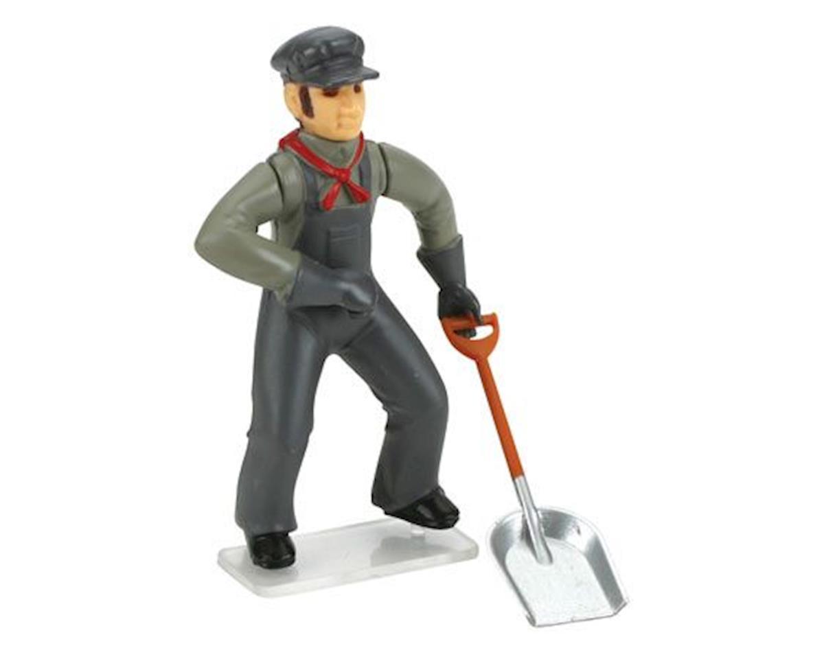 Bachmann G Fireman w/Shovel