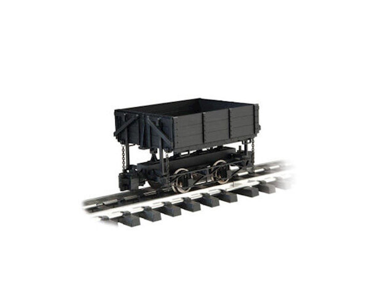 Bachmann 1:20.3 Wood Side Dump Car, Black