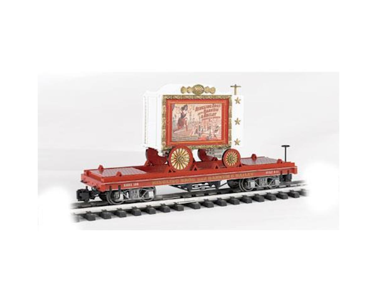 Bachmann G Flat Car, Ringling Bros/Lady Artists #108