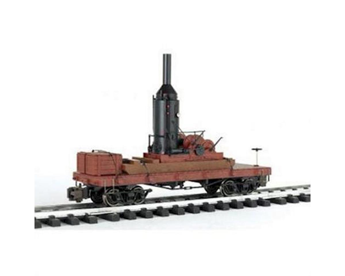 Bachmann G SKELETON LOG CAR/CRATES
