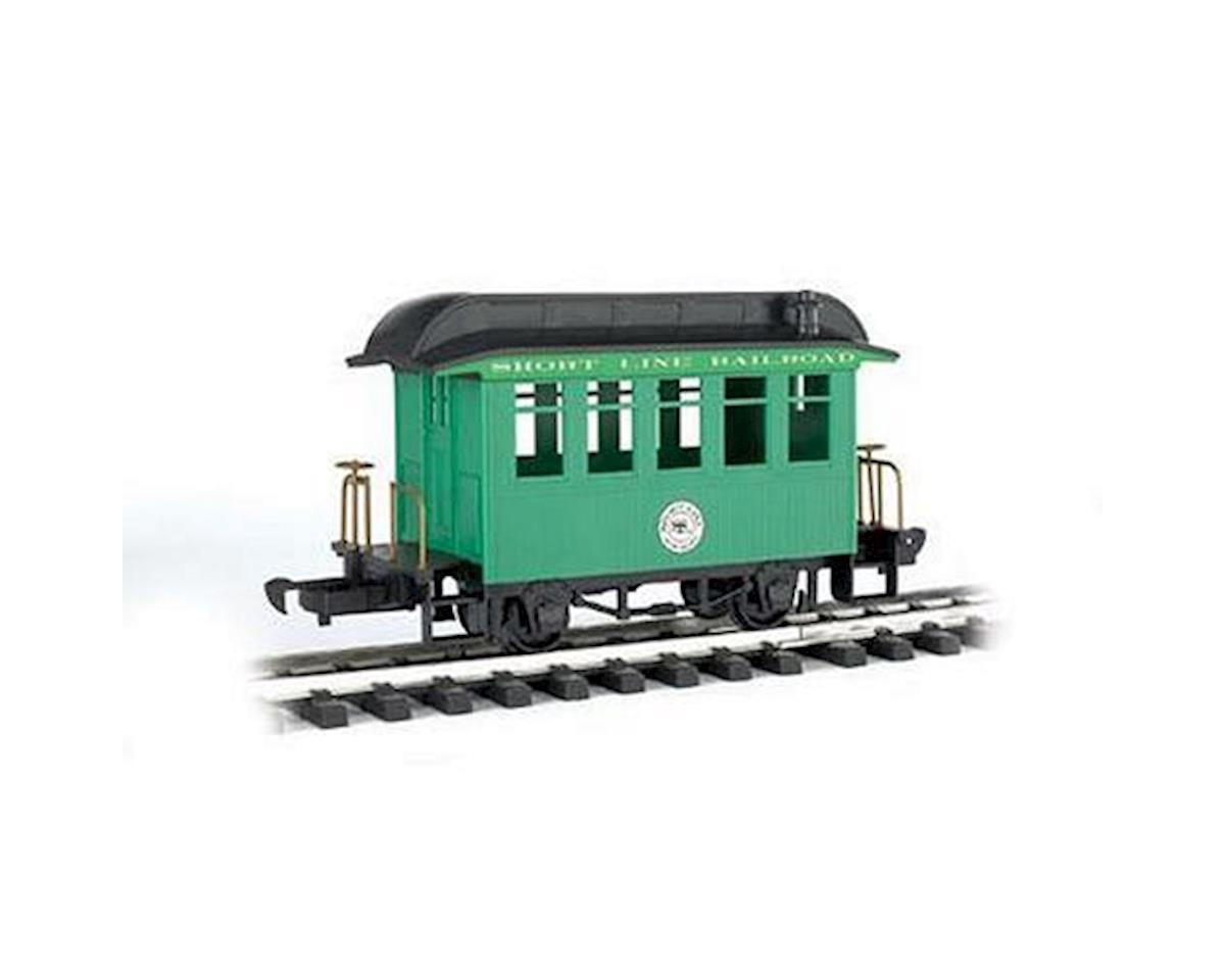 Bachmann G Li'l Big Haulers Coach Car, Short Line/Green