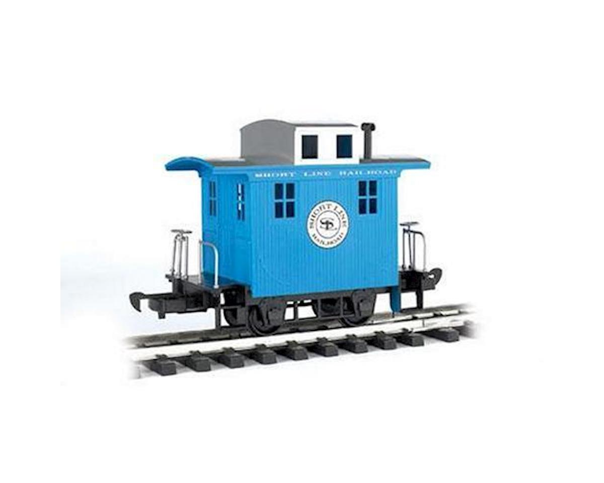 G Li'l Big Haulers Caboose, Short Line/Blue by Bachmann